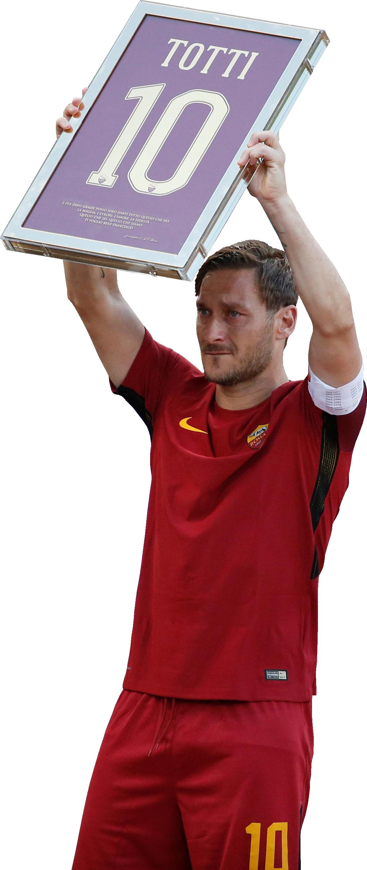 Francesco Totti football render - 37211 - FootyRenders