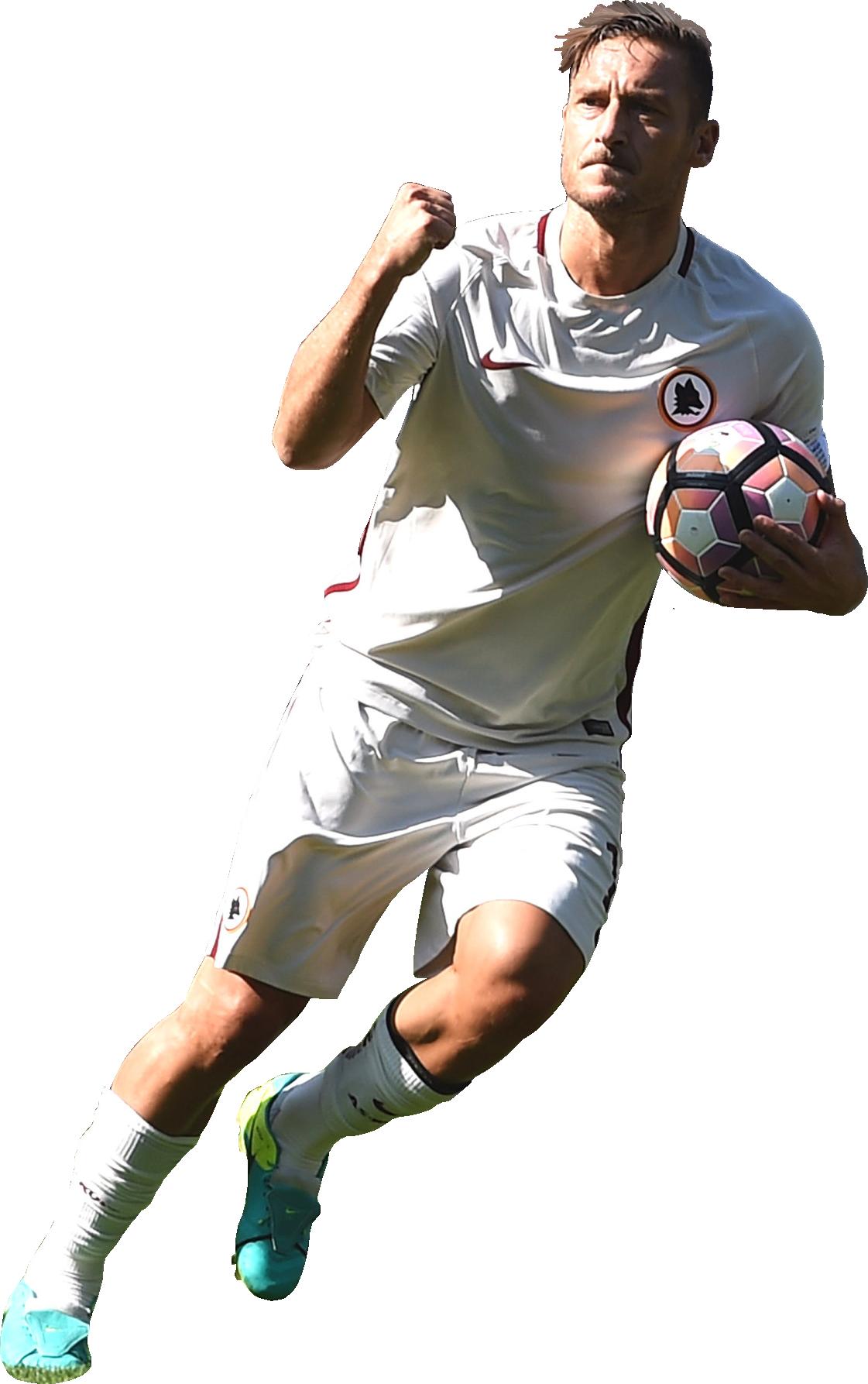 Francesco Totti football render - 30396 - FootyRenders