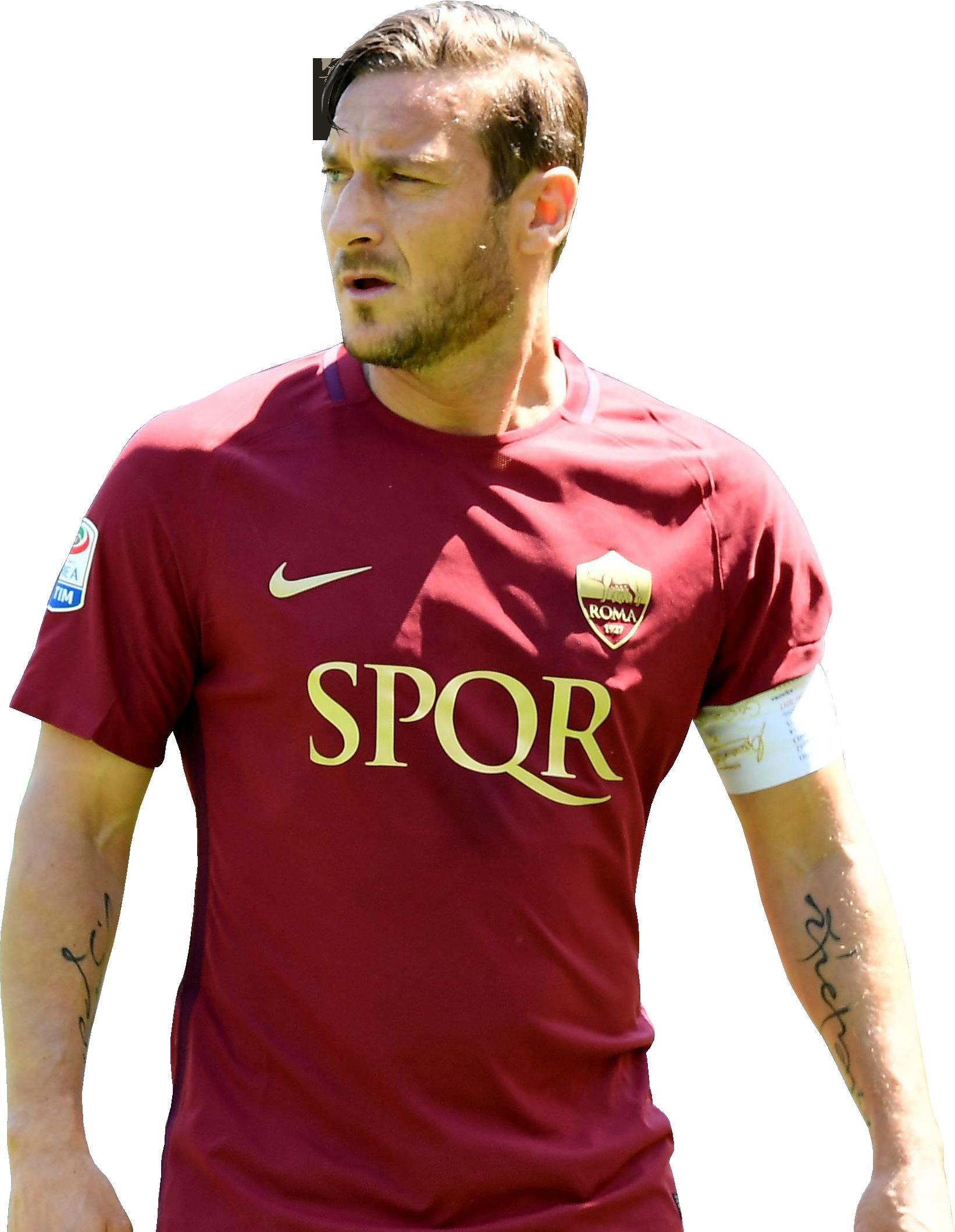 Francesco Totti football render - 36345 - FootyRenders