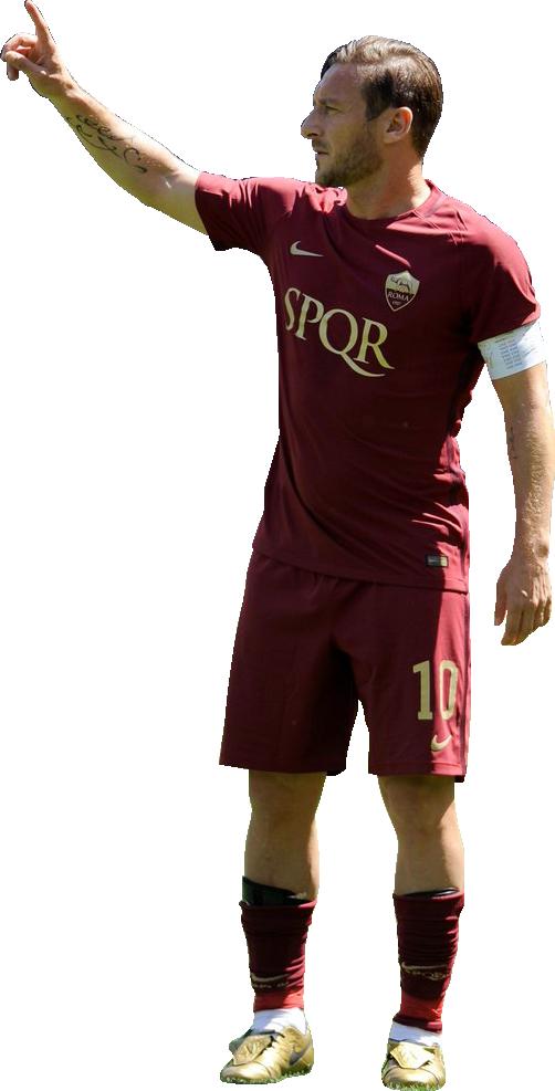 Francesco Totti football render - 36342 - FootyRenders
