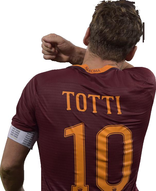 Francesco Totti football render - 34062 - FootyRenders