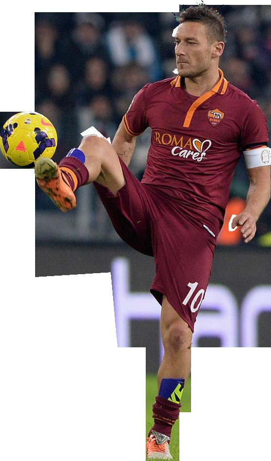 Francesco Totti football render - 2384 - FootyRenders