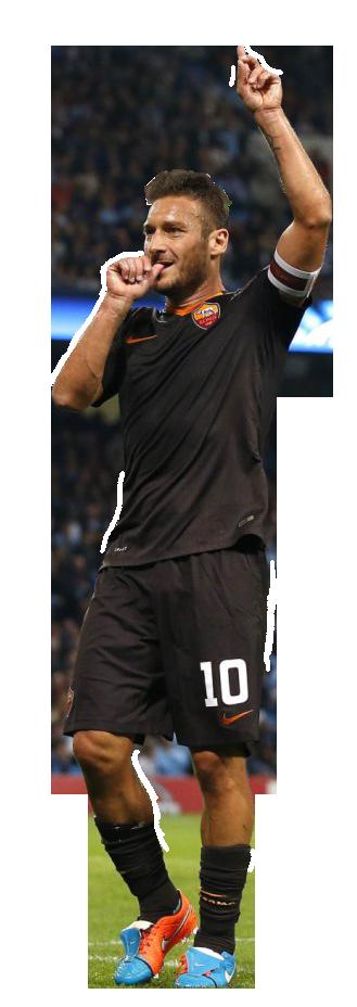 Francesco Totti football render - 8370 - FootyRenders