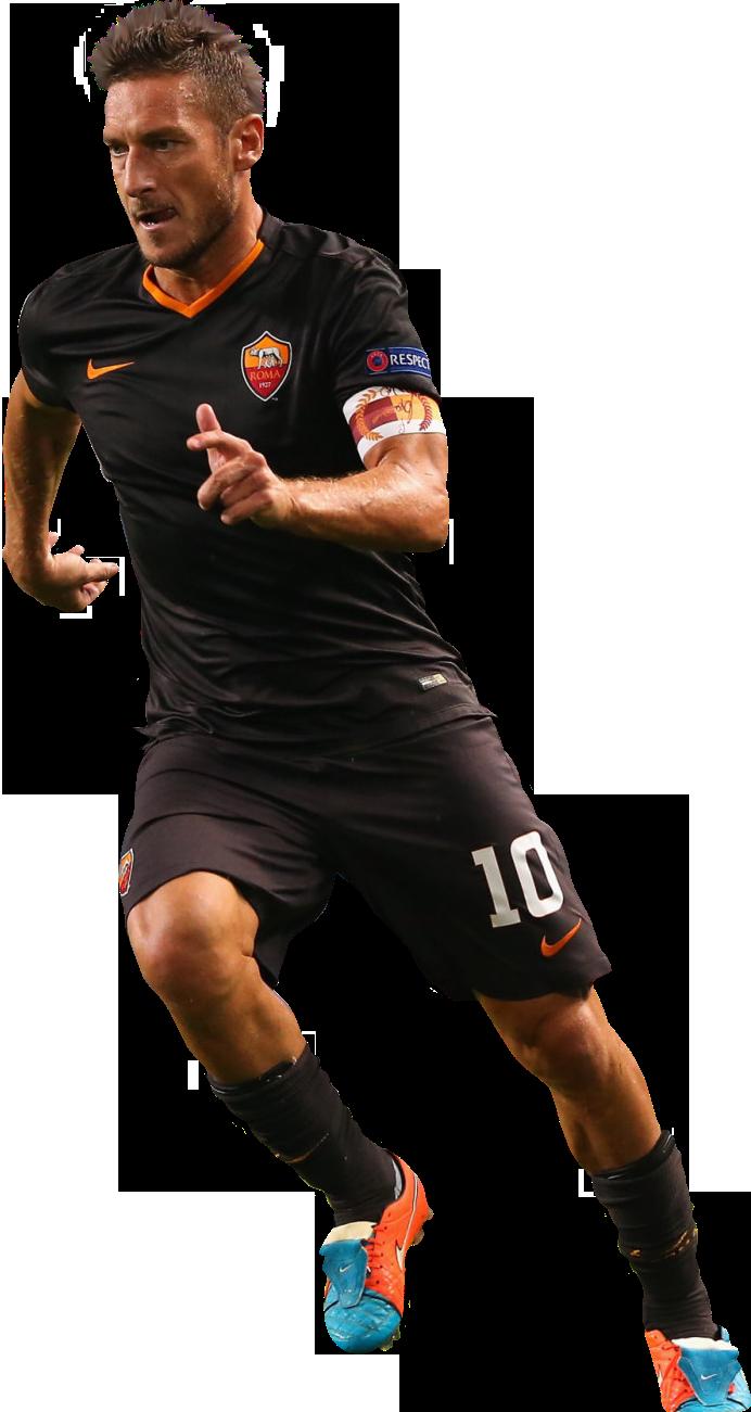 Francesco Totti football render - 8457 - FootyRenders