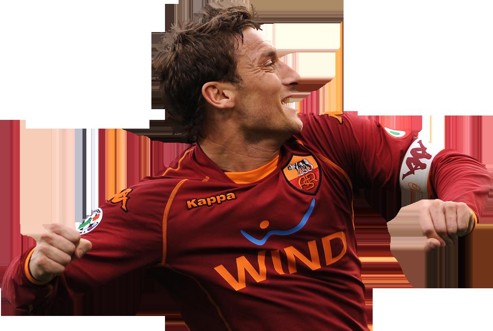 Francesco Totti football render - 16048 - FootyRenders
