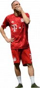 Franck Ribery football render
