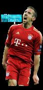 Franck Ribery football render