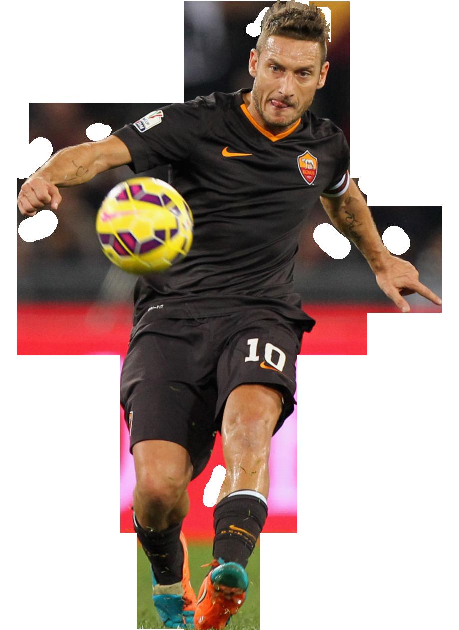 Francesco Totti football render - 10335 - FootyRenders