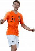 Frenkie De Jong football render