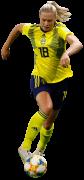 Fridolina Rolfö football render