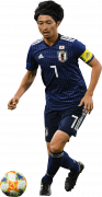 Gaku Shibasaki football render