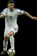 Gaston Pereiro football render