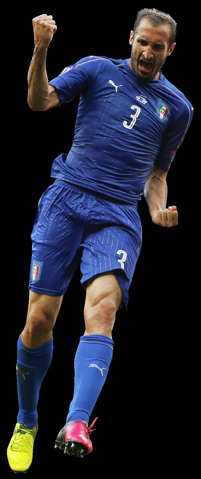 Giorgio Chiellini football render FootyRenders