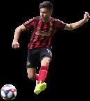 Gonzalo Martínez football render
