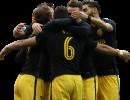 Antoine Griezmann, Koke, Kevin Gameiro & Yannick Ferreira Carrasco