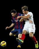 Grzegorz Krychowiak & Lionel Messi