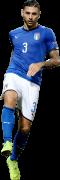 Giuseppe Pezella football render