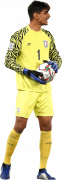 Gurpreet Singh Sandhu football render