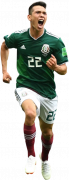 Hirving Lozano football render