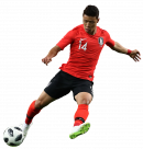 Hwang Hee-chan football render