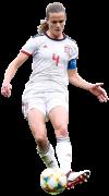 Irene Paredes football render