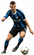 Ivan Perisic football render