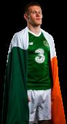 James McClean football render