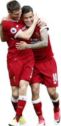 James Milner & Philippe Coutinho