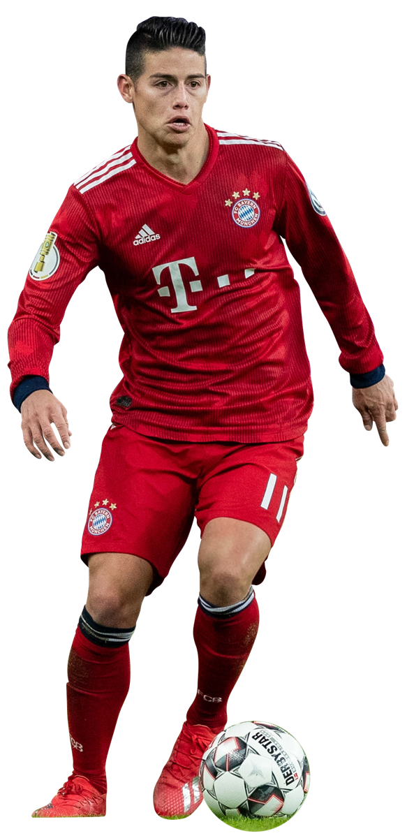 James Rodríguez render