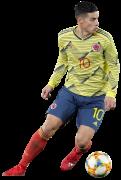 James Rodriguez football render