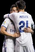 James Rodriguez & Alvaro Morata