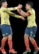 James Rodriguez & Radamel Falcao