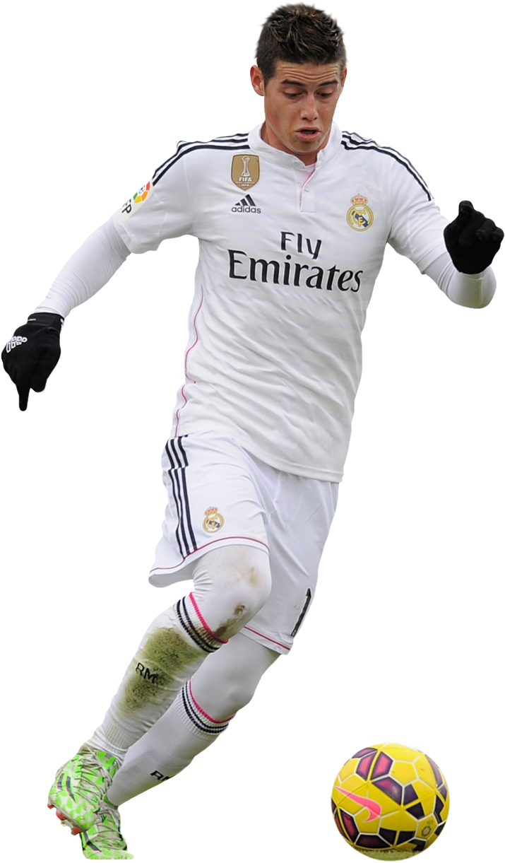 James Rodriguez Football Render 10348 Footyrenders