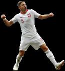 Jan Bednarek football render