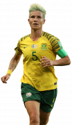 Janine Van Wyk football render