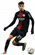 Kai Havertz football render