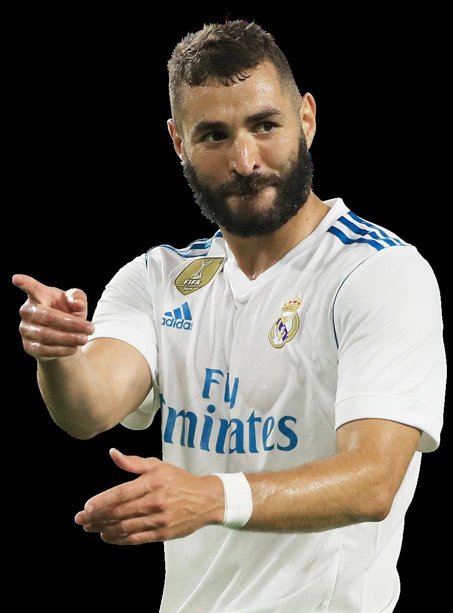 Karim Benzema football render FootyRenders