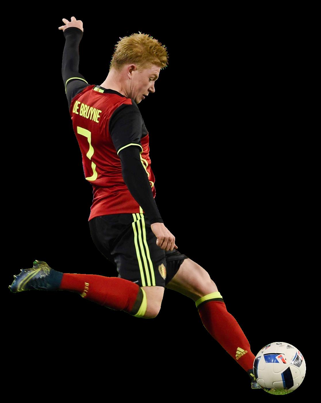 Kevin De Bruyne football render - 24097 - FootyRenders