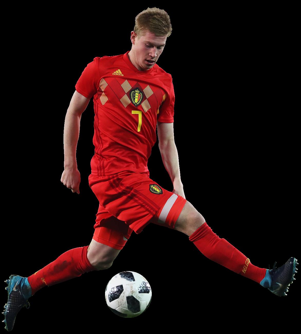 Kevin De Bruyne football render - 45327 - FootyRenders