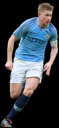 Kevin De Bruyne football render - 52064 - FootyRenders