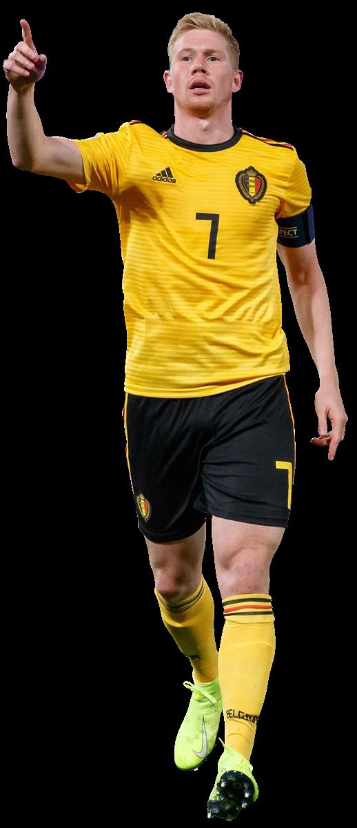 Kevin De Bruyne football render - 59145 - FootyRenders