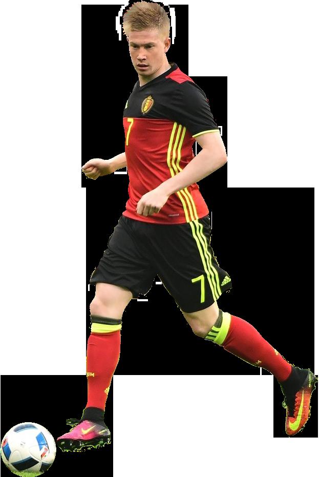 Kevin De Bruyne football render - 26089 - FootyRenders