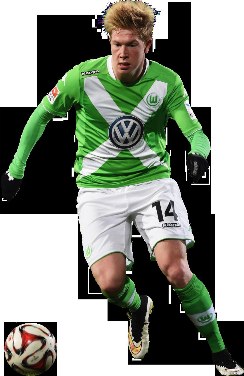 Kevin De Bruyne football render - 12317 - FootyRenders