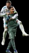 Keylor Navas & Sergio Ramos
