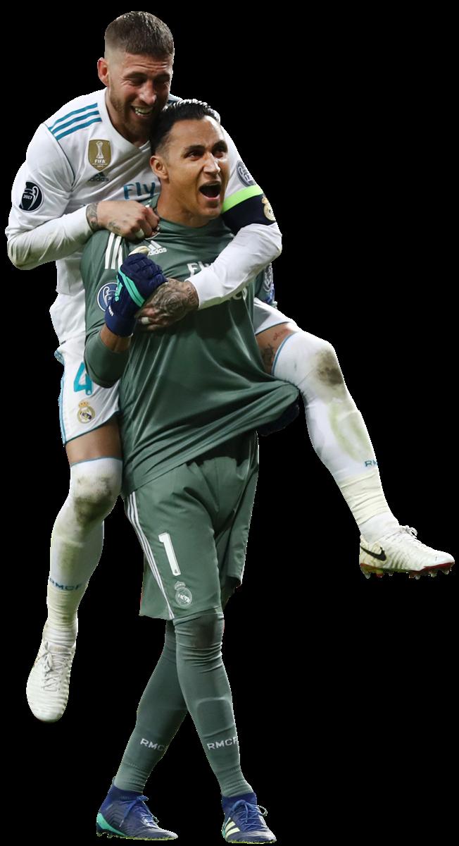 Keylor Navas & Sergio Ramosrender
