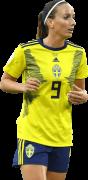 Kosovare Asllani football render