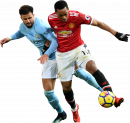 Kyle Walker & Anthony Martial