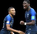 Kylian Mbappé & Paul Pogba