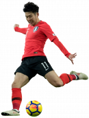 Lee Chung-Yong football render