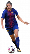 Lieke Martens football render